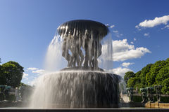 Vigeland Sculpture Arrangement, Frogner Park, Oslo, Norway Royalty Free Stock Image