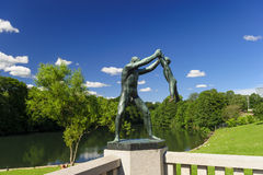 Vigeland Sculpture Arrangement, Frogner Park, Oslo, Norway Royalty Free Stock Photo