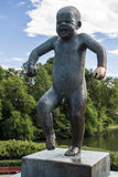 Vigeland Sculpture in Frogner Park in Oslo Royalty Free Stock Images