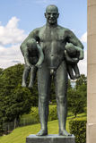 Vigeland Sculpture in Frogner Park in Oslo Royalty Free Stock Photo