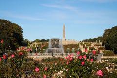 Vigeland Sculpture Park in Oslo, Norway Stock Photos