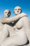 Vigeland sculpture woman Stock Photo