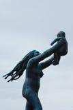 Vigeland Park Sculptures. Sculptures from the Vigeland park in Oslo Stock Image