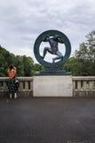 Vigeland Skulpturpark lizenzfreies stockfoto