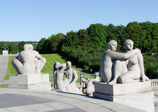 Vigeland womans Royalty Free Stock Image