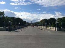Vigelanden parkerar, Oslo, Norge Fotografering för Bildbyråer