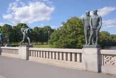 Vigelands-Park Stockbild