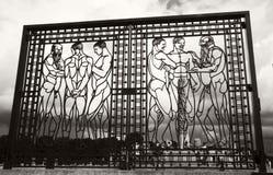 Vigelandsparken雕塑公园 免版税库存照片