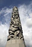 Vigelandsparken skulptur parkerar Arkivfoto