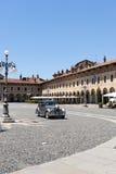 vigevano аркады ducale стоковое изображение rf