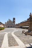 Vigevano, Piazza Ducale Royalty Free Stock Photo