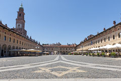 Vigevano, Piazza Ducale Royalty Free Stock Photos