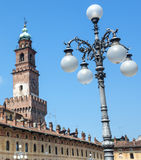 Vigevano: Piazza Ducale Royalty Free Stock Photography