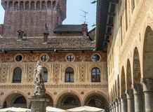 Vigevano: Piazza Ducale royalty free stock photo