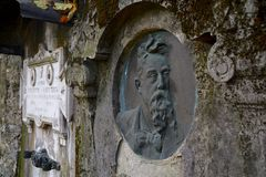 ViggiÃ-¹ ` s alter Kirchhof stockbilder