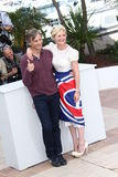 Viggo Mortensen and Kirsten Dunst Royalty Free Stock Photography