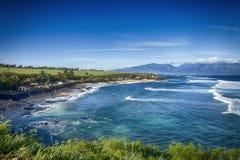 Vigia de Hookipa - Maui, Havaí imagem de stock