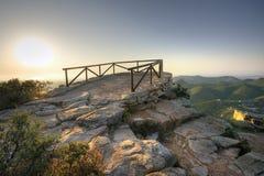 Vigia na montanha Fotos de Stock Royalty Free