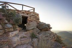 Vigia na montanha Fotografia de Stock Royalty Free