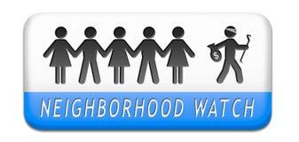 Vigie de quartier Photos libres de droits