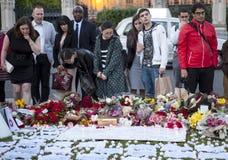 Vigil της Jo COX Στοκ Εικόνες