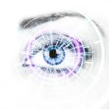 Vigilancia de Digitaces Fotos de archivo