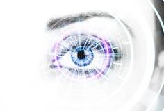 Vigilancia de Digitaces Imagen de archivo