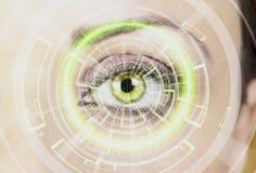 Vigilancia de Digitaces Imagen de archivo libre de regalías
