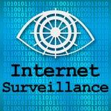 Vigilancia de Internet Imagenes de archivo