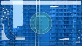 Vigilancia de la casa almacen de metraje de vídeo