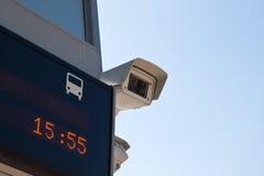 Vigilancia de la cámara Fotografía de archivo libre de regalías