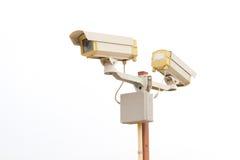 Vigilancia de las cámaras imagen de archivo libre de regalías