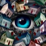 Vigilancia vecinal Fotos de archivo libres de regalías