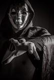 Vigilante escuro do fantasma do horror Foto de Stock Royalty Free