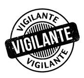 Vigilante rubber stamp Royalty Free Stock Photos