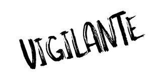 Vigilante rubber stamp Royalty Free Stock Photos
