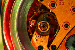 Vigilanza della macchina della parte Fotografie Stock Libere da Diritti