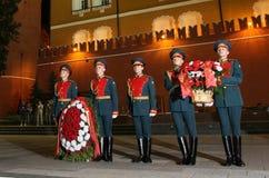 Vigilanza patriottica di memoria di azione della gioventù Fotografia Stock
