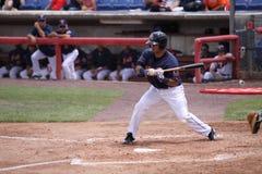 Vigilanze di Jose Coronado della pastella di Binghamton Mets Immagine Stock