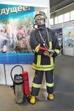 Vigile del fuoco del costume Fotografia Stock
