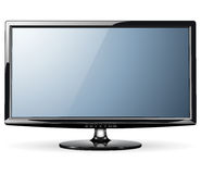 Vigile la TV Fotos de archivo libres de regalías