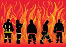 Vigili del fuoco illustrazione di stock