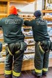 Vigili del fuoco di FDNY Immagini Stock