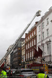Vigili del fuoco di Londra Immagine Stock Libera da Diritti