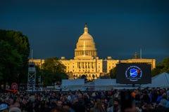 Vigilia de la semana de 2017 policía Fotos de archivo