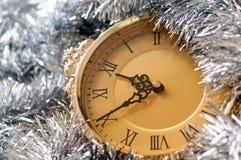Vigilia del nuovo anno Fotografia Stock Libera da Diritti