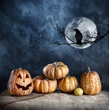 Vigilia di Halloween Fotografia Stock