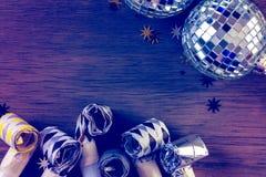 Vigilia di nuovo anno Immagine Stock