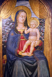 Vigin Mary with baby Jesus Stock Image