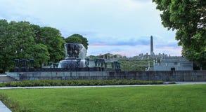 Vigland park, Oslo, norway Royalty Free Stock Image